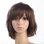 Kadınların patlama kostüm peruk ısıya dayanıklı fiber saçlı kısa bob sentetik malzeme peruk peruk