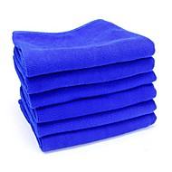 ziqiao 6pcs / mye microfiber bil pusseklut vask håndkle produkter støv verktøy (30 * 30cm)