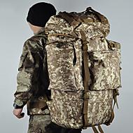 100 L Sırt Çantası Paketleri Laptop Paketleri Bagaj Seyahat Duffel sırt çantası Serbest Sporlar Kamp & Yürüyüş Seyahat KoşmaÇok