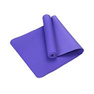 TPE Yoga Mats Eco Friendly Libre de Olores 6 mm Rosa Azul Verde Morado Azul Claro Other