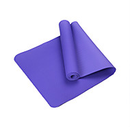 TPE Yogamattor Miljövänlig Luktfri 6 mm Rosa Blå Grön Lila Ljusblå Other