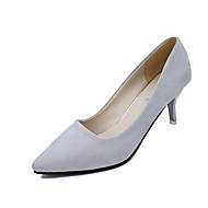 Homme-Bureau & Travail Décontracté Work & Safety-Noir Rose Gris clair Gris foncé-Talon Aiguille-club de Chaussures-Chaussures à Talons-