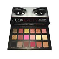 18 colors eye shadow Paleta de Sombras Secos Paleta da sombra Pó Conjunto Maquiagem para o Dia A Dia