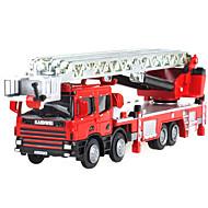 רכב מכבי אש צעצועים צעצועים רכב 01:50 מתכת ABS פלסטיק כסוף צעצוע בניה ודגם