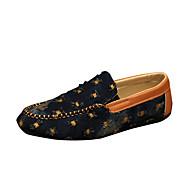 Egyéb-Lapos-Női cipő-Vitorlás cipők-Alkalmi-PU-Kék Világoszöld