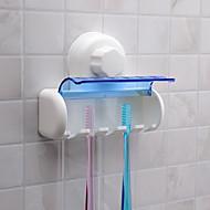 Porte brosse à dents Multifonction Ecologique Rangement Plastique Toilettes Caddies Bath