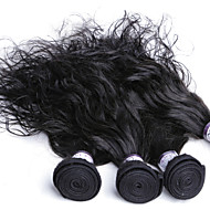 3Pcs Malaysian Human Hair Bundles Remy Virgin Hair Unprocessed Hair Extensions Wavy Weave Bundles