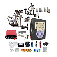 Complete Tattoo Fairy II 2 Machines With Mini Power Supply  Liner & Shader Inks