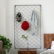 Wall Decor Iron Modern Wall Art Grid Hangers Hook Up