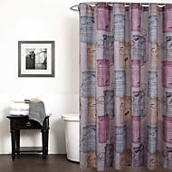 クラシック ポリエステル 180*183/180*200  -  高品質 シャワー用カーテン