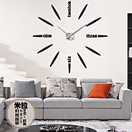 Retro Zegar ścienny,Zaokrąglanie Akrylowy Inne 31*39 Domowy Zegar