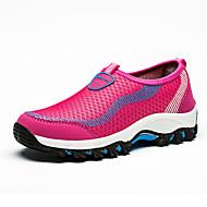 Feminino-Mocassins e Slip-Ons-Conforto Solados com Luzes par sapatos-RasteiroTule-Ar-Livre Casual Para Esporte