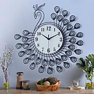 Moderno/Contemporâneo Casas Relógio de parede,Inovador Poliresina Interior Relógio