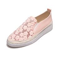 운동화-야외 캐쥬얼 Work & Safety-여성-컴포트 조명 신발-튤 PU-플랫