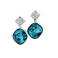 SILVERAGE Hoop Earrings Jewelry Casual Sterling Silver 1 pair Silver