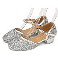 Non Customizable Kids' Dance Shoes Leatherette Lace Sparkling Glitter Paillette SyntheticLeatherette Lace Sparkling Glitter Paillette