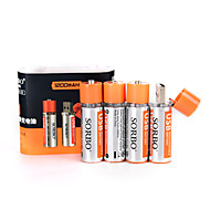 Sorbo aa bateria de lítio recarregável 1.5V 1200mAh usb 8 pack