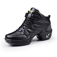 Buty do tańca-Damskie-Jazz Adidasy do tańca Stepowanie Salsa-Brak możliwości personalizacji-Gruby obcas-