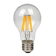 8W E27 LED filament žarulje A60(A19) 8 COB 750 lm Toplo bijelo Hladno bijelo AC 220-240 V 1 kom.