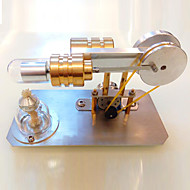 스털링 기계 엔진 모터 모델 디스플레이 모델 교육용 장난감 과학&디스커버리 완구 기계 DIY