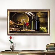 Giclee Print Kuuluisa Maisema Classic Realismi,1 paneeli Horisontaalinen Panoramic Tulosta Art Wall Decor For Kodinsisustus