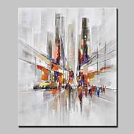 Hånd-malede Landskab Abstrakt Landskab Vertikal,Moderne Europæisk Stil Et Panel Kanvas Hang-Painted Oliemaleri For Hjem Dekoration