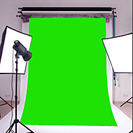 3X5FT green Thin Vinyl Photography Backdrop Studio Prop Photo Background