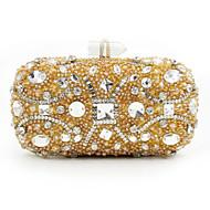 L.west Women Elegant High-grade Diamonds Sequins Evening Bag