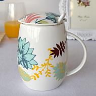 Farbig Trinkbecher, 300 ml Dekoration Keramik Kaffee Milch Gläser und Tassen für den täglichen Gebrauch