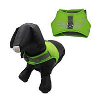 Hunder Seler Vandtæt Reflekterende Justerbare/Uttrekkbar Tegneserie Grøn Blå Gul Oransje Marine Nylon Netting