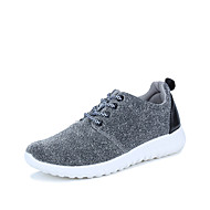 Women's Athletic Shoes Spring Summer Fall Winter Comfort Customized Materials Outdoor Athletic Casual Flat Heel Lace-up Blue Red Gray