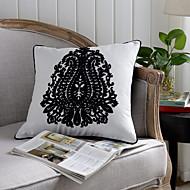 1 ks Bavlna Polštářový potah,Zdobené a Vyšívané tradiční klasika Zvýraznění / dekorace