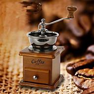 estilo vintage moedor de café tempero mão máquina de moer máquina de manivela unidade rolo de rebarba de grãos de café moinho
