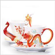 Klasický Jít Outdoor Sklenice, 30 ml Tepelně izolovaná Keramika Akt Mléko Běžné nápojové potřeby Nejnovější nápojové potřeby Kávové šálky
