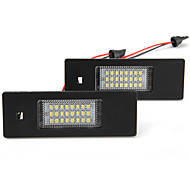 2x 24 conduit 3528 Numéro cms plaque d'immatriculation lampe de feu arrière pour bmw e64 e81