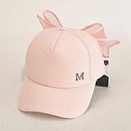 Women's Fashion Sweet Cotton Baseball Cap Sun Hat Cute Bowknot Patchwork Casual Holiday Summer All Seasons Pink/Black