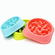 Hund Schalen & Wasser Flaschen Haustiere Schüsseln & Füttern Wasserdicht grün blau rosa Kunststoff