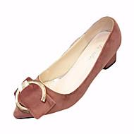 Damen-Loafers & Slip-Ons-Outddor-Vlies-Blockabsatz-Komfort-Schwarz Grün Hellrosa