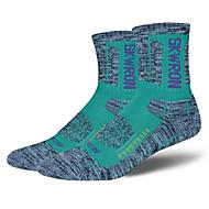 Sportsocken Damen Socken Herbst Winter Atmungsaktiv Windundurchlässig Antirutsch Antibakteriell Schweißableitend Komfortabel Dick