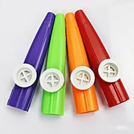 אדום פלסטיק / כחול / סגול / ירוק / קאזו צהוב על צעצוע כלי נגינה לילדים