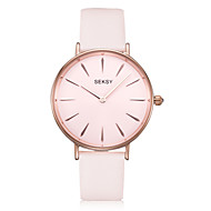 Women's Fashion Watch Water Resistant / Water Proof Quartz Genuine Leather Band Casual Rose Gold