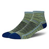Sport Sportsocken Herrn Socken Herbst Winter Atmungsaktiv Antirutsch Antibakteriell Schweißableitend Komfortabel Baumwolle Elastan Chinlon
