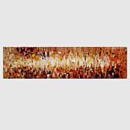 Hånd-malede Abstrakt Horisontal,Moderne Et Panel Kanvas Hang-Painted Oliemaleri For Hjem Dekoration