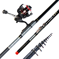 Boat Rod Carp Rod Fishing Rod Fishing Rod + Reel Carp Rod Carbon 360 M Freshwater Fishing Other Carp Fishing General Fishing Rod Silver-