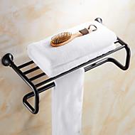 Tyč na ručníky / Naolejovaný bronzMosaz /Vintage