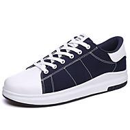 sneakers verão tornozelo queda alça de lona casual ao ar livre lace-up preto vermelho azul