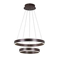Luzes Pingente ,  Contemprâneo Escovado Característica for LED Designers MetalSala de Estar Quarto Sala de Jantar Quarto de