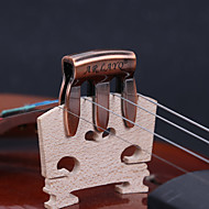 Professionel Generelle Accessories Høj klasse Violin nyt instrument Metal Musikinstrument Tilbehør Rød Hvid Sølv