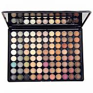 88 Paleta de Sombras Secos Mate Brilho Paleta da sombra Pó GrandeMaquiagem para o Dia A Dia Maquiagem para Dias das Bruxas Maquiagem de
