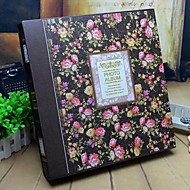 Álbum de fotos de flores / botánicos retro